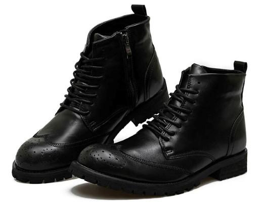 cadarço de bota e calçados de cano longo